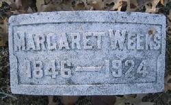 Margaret J <i>Stevens</i> Weeks
