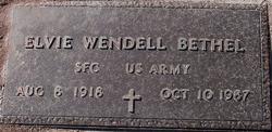 Elvie Wendell Hop Bethel