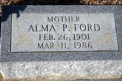 Alma <i>Pierce</i> Ford
