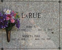 Waneta <i>Pike</i> LaRue