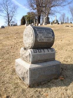 Cornelia E. <i>Hinman</i> Butts