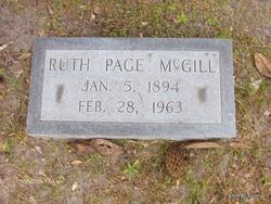 Ruth <i>Page</i> McGill