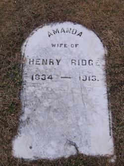 Amanda <i>Larue</i> Ridge
