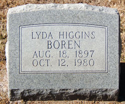 Lyda V. <i>Higgins</i> Boren
