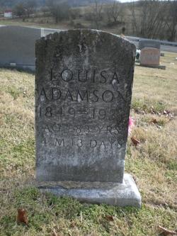 Louiza A. C. <i>Anderson</i> Adamson