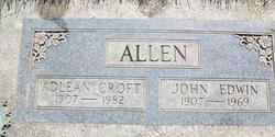 Adlean Addie <i>Croft</i> Allen