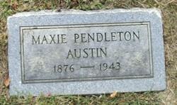 Maxie <i>Pendleton</i> Austin