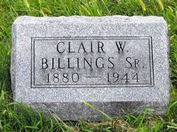 Clair Walter Billings, Sr