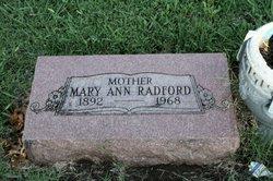Mary Ann <i>Bowers</i> Radford