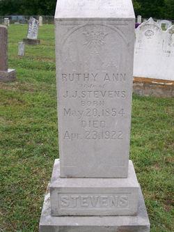 Ruthe Ann <i>Coggburn</i> Stevens