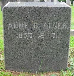 Annie <i>Cushing</i> Alger