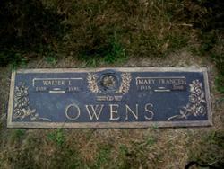 Mary Frances <i>Scott</i> Owens
