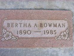 Bertha Anne Betty <i>Davis</i> Bowman