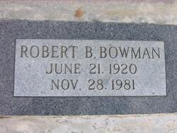 Robert Bruce Bowman