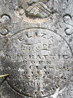 Eliza <i>Parris</i> Battie