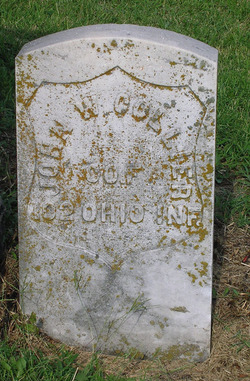 Pvt John W. Colyer