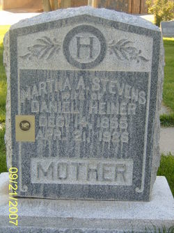Martha Ann <i>Stevens</i> Heiner