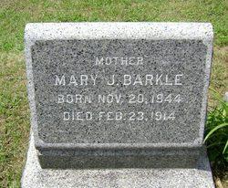 Mrs Mary Jane <i>Strong</i> Barkle