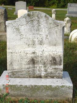 Sarah Ann Sallie <i>Hoskins</i> Gray-Watson