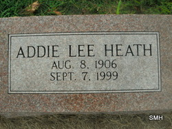 Addie Lee Heath