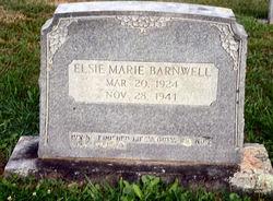 Elsie Marie Barnwell