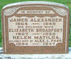 Helen Matilda <i>Alexander</i> Park