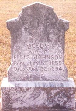 Beedy L Eudora <i>Massey</i> Johnson