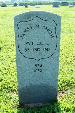 Pvt James Monroe Smith, Sr