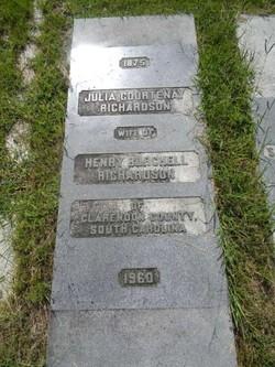 Julia <i>Courtenay</i> Richardson