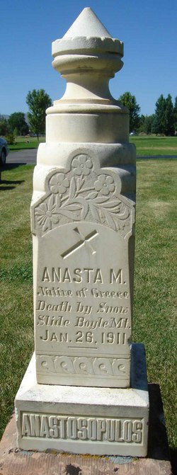 Anasta M. Anastosopulos