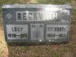 Lucy <i>Lambertson</i> Beckwith