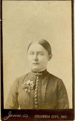 Alfretta Jane Jennie <i>Pressler</i> Leaman
