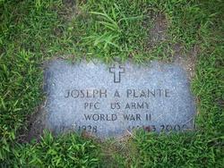 Joseph A Plante