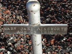 Mary Jane <i>Precious</i> Ainsworth
