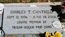 Shirley Temple <i>Combs</i> Cantrell