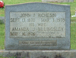 Amanda J. <i>Billingsley</i> Richesin