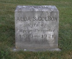 Alda S. <i>Colson</i> Alexander