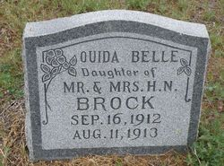 Ouida Belle Brock