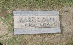 Mary E. Mollie Babb