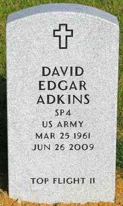 Spec David Edgar Adkins