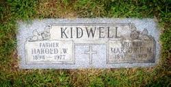 Harold William Kidwell, Sr