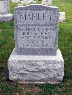 Vertie <i>Stone</i> Manley