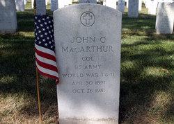 Col John Cawley MacArthur, II
