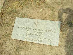 Woodrow Wilson Bevers