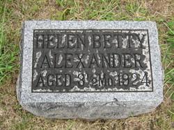 Helen Betty Alexander