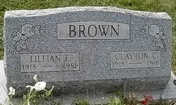 Lillian Elizabeth <i>Richmond</i> Brown