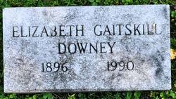 Elizabeth <i>Gaitskill</i> Downey