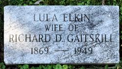 Lula Elkin Gaitskill