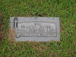 Martha Ellen Frances <i>Frederick</i> Jeffries