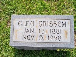 Cleo Geneva <i>Funderburk</i> Grissom